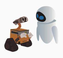 Wall-E & Eva Kids Clothes