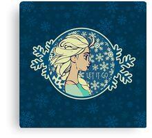 Let It Go (Frozen) (Disney) Canvas Print