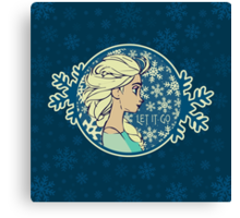 Let It Go (Frozen) (Disney) Canvas Print