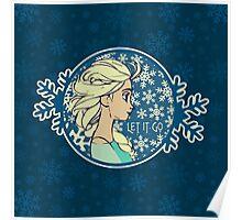 Let It Go (Frozen) (Disney) Poster
