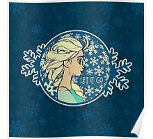 Let It Go (Frozen) (Disney) Poster