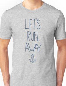 Let's Run Away: Ocean Unisex T-Shirt