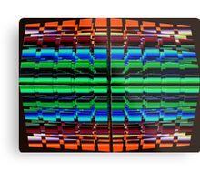 The Multi Colored Grid! Metal Print