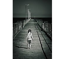 Lonely Jetty Photographic Print