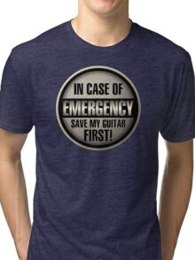 In Case Of Emergency Tri-blend T-Shirt