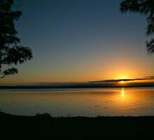 sunset on the basin by marko1953