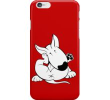 English Bull Terrier Itchy Head iPhone Case/Skin