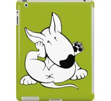 English Bull Terrier Itchy Head iPad Case/Skin