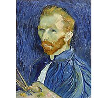 Self Portrait of Vincent Van Gogh Photographic Print