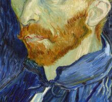 Self Portrait of Vincent Van Gogh Sticker