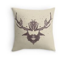 Hannibal Rorschach Test Throw Pillow