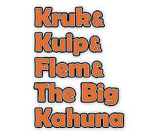 Kruk & Kuip & Flem & The Big Kahuna by snuggles