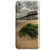 Tenby Lifeboat Ramps iPhone Case/Skin