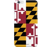Maryland State Flag iPhone Case/Skin
