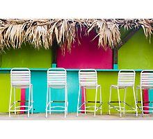Bar in Bermuda Photographic Print