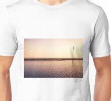 North sea rock groyne Unisex T-Shirt