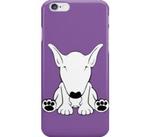 English Bull Terrier Forward Sit 2 iPhone Case/Skin