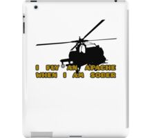 Sober Helicopter Dude iPad Case/Skin