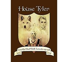 House Tyler Crest Photographic Print