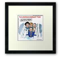 2014 Bobsled Team Framed Print