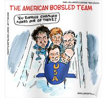 2014 Bobsled Team Poster