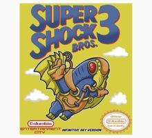 Super Shock Bros 3 Sticker by JakGibberish