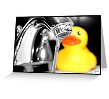 Rubber Ducky Greeting Card