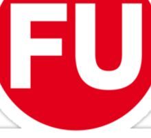The FU Train Sticker