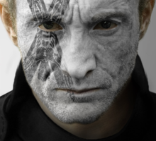 Roose Bolton House War Paint Sticker