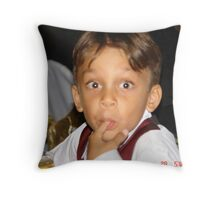 My grandson Throw Pillow