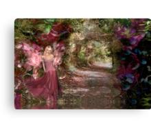 The Secret Garden - Rose & Cathleen Tarawhiti Canvas Print