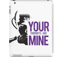 Yuri - Your thoughts are mine iPad Case/Skin