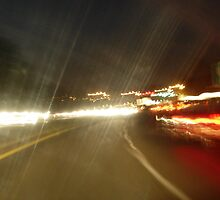 Rainy Night Drive by John Ayo