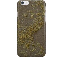 Grain Patterns on Kwinana Beach iPhone Case/Skin