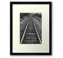 Gone.. Framed Print