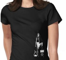 mazie - rock out with your smock out Womens Fitted T-Shirt