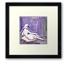 Breastless Ode to Ingres Framed Print
