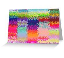 flaming rainbows Greeting Card