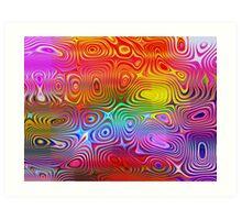 rainbow sardines! Art Print