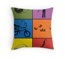 Remember When - 70's Child Throw Pillow