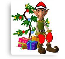 Christmas Elf  Canvas Print