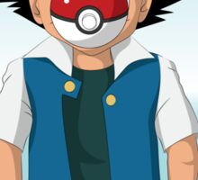 The Son of Pokeball Sticker