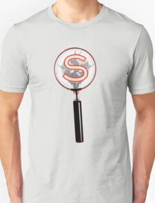 Serial Magnifying Glass T-Shirt