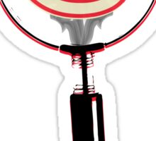 Serial Magnifying Glass Sticker