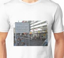 American Sector check Point, Berlin Unisex T-Shirt