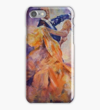 Ballroom Dancing – Dance Art Gallery 32 The Waltz iPhone Case/Skin