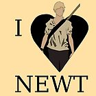 I Love Newt by GeekyToGo