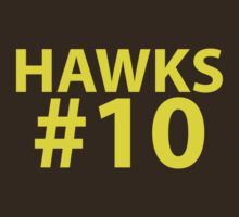 Hawks Supporter Shirt - football, basketball, rugby, etc by troyw