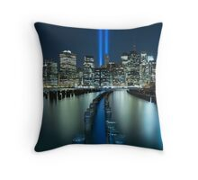 Tribute In Light Throw Pillow