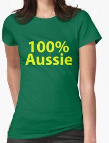 100% Aussie - Australia Womens Fitted T-Shirt